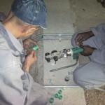 Grootte Schuur Installation 6